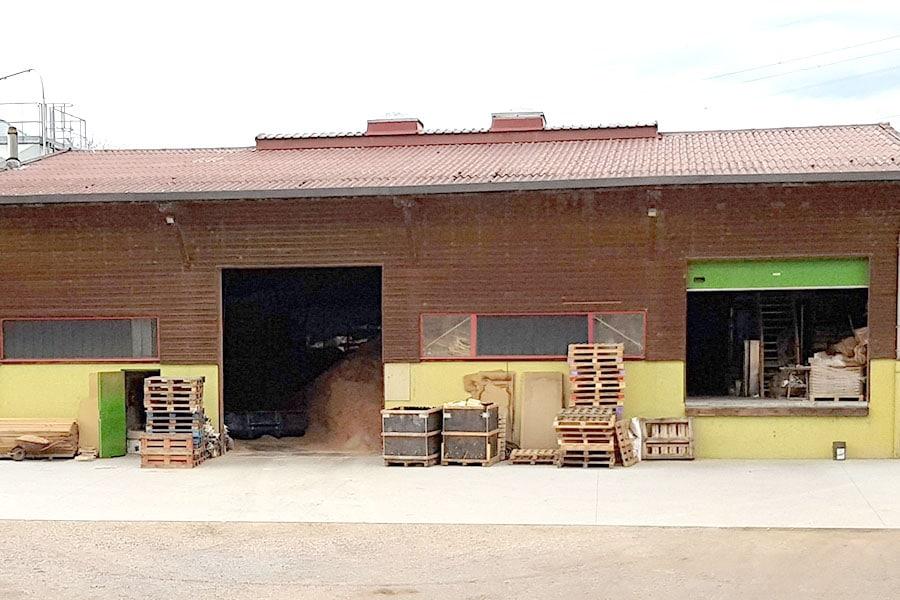 Einna Biocombustibles, fabrication de granulés bois à Amplepuis