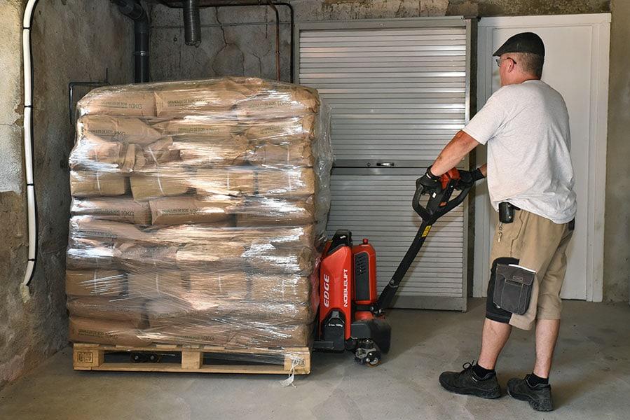 Livraison de palettes de pellets de bois dans le Rhône